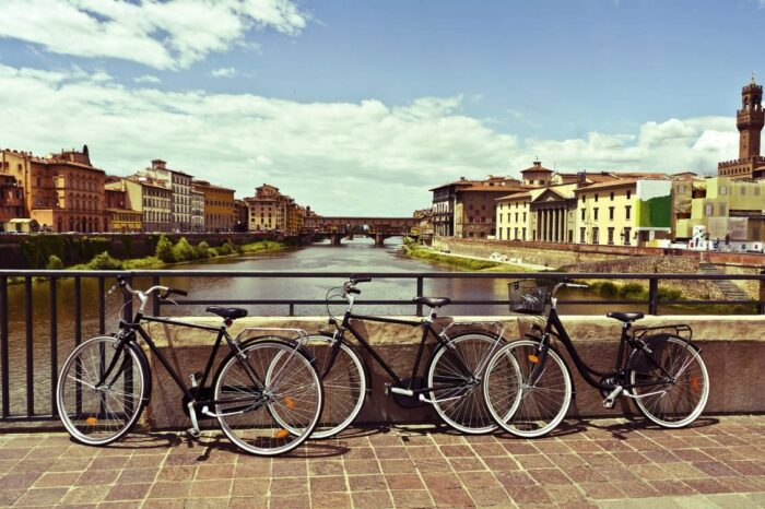 Florence, Siena, Pisa or Lucca city Bike & E-Bike Tour