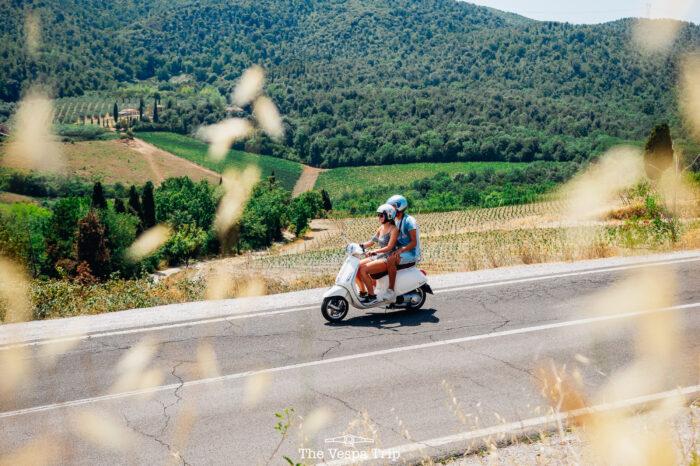 Vespa Chianti Tour