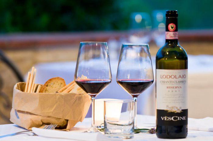 Super Chianti wine tour